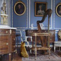 "Karen Knorr, ""The Blue Salon Louis XVI 2"""