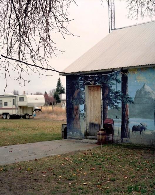 "M. Alexis Pike, ""Camper—Teton Idaho"""