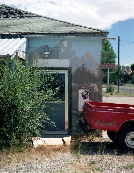 "M. Alexis Pike, ""Red Truck—McCammon Idaho"""