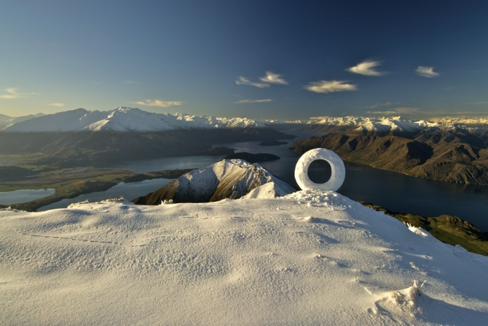 "Martin Hill, ""Wanaka Snow Circle"""