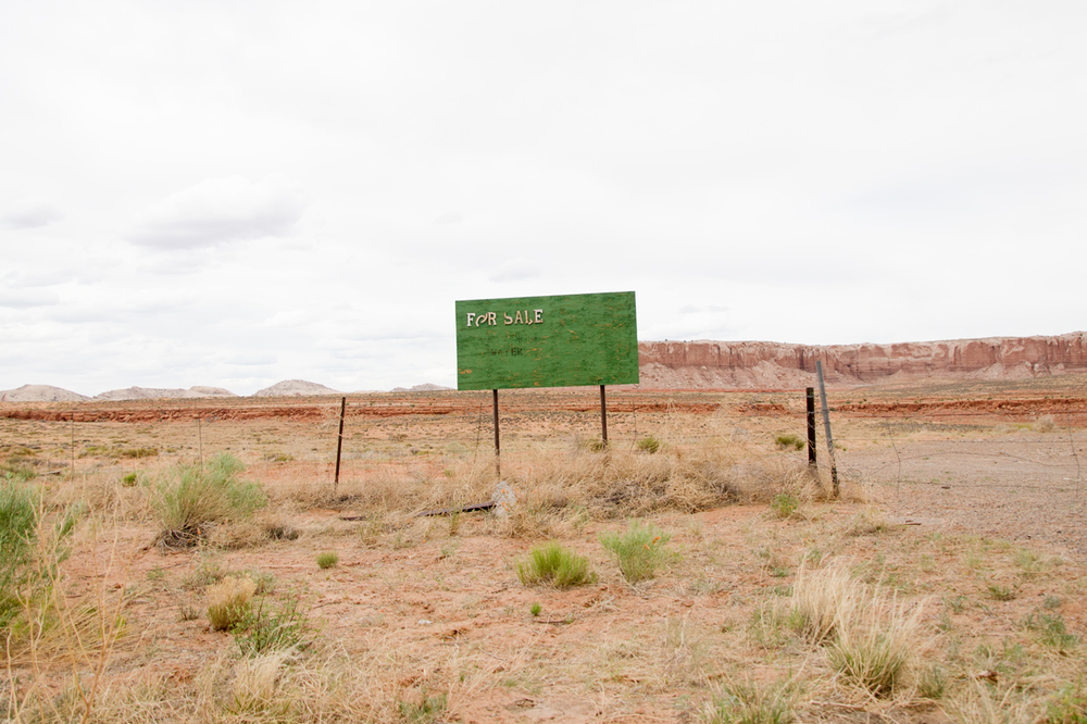 "Paul Sisson, ""For Sale, Bluff, UT"""
