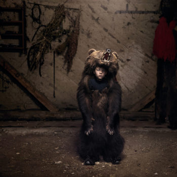 "Tamas Dezso, ""Ciprian, the Bear Dancer (Salatruc, East Romania)"""