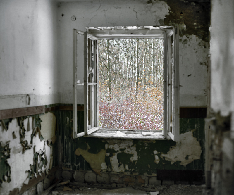"Tamas Dezso, ""Abandoned Room (Soviet Base, West Hungary)"""