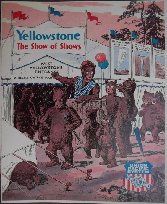 "Walter Oehrle, ""Yellowstone the Show of Shows"" (1930)"